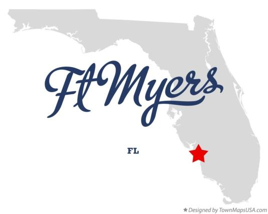 map_of_ft_myers_fl